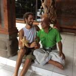 Avec Ngurah, le maître