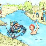 carte de jeu - bonne utilisation de l'eau