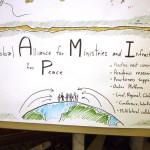 6eme sommet de l'Alliance Globale pour les Ministères et Infrastructures pour la Paix - panneau 4