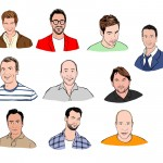 Portraits de l'équipe