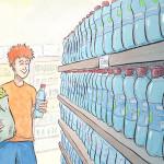 cartes de jeu : parcours d'une bouteille plastique - 1