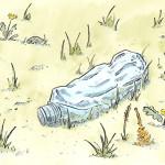 cartes de jeu : parcours d'une bouteille plastique - 4